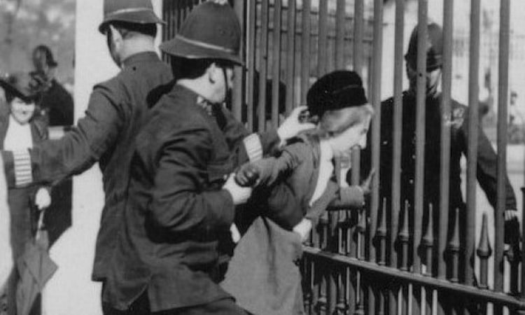 Edith Rigby Arrested