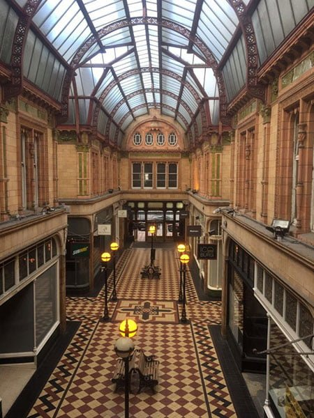 Inside the Miller Arcade, Preston
