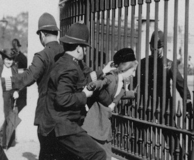 Edith Rigby arrest