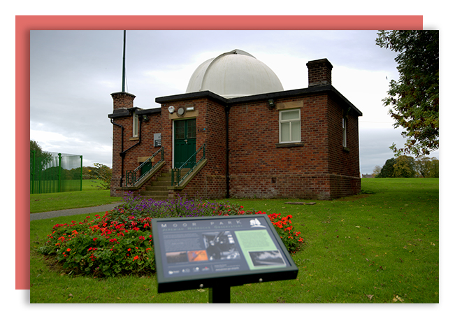 The Jeremiah Horrocks Observatory, on Moor Park, opened on the 29th June 1927: Tony Worrall