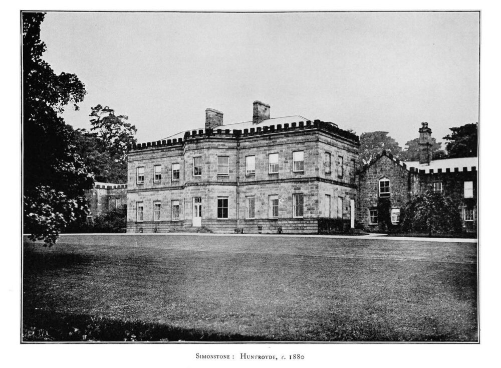 Guys Piers Le Gendre Starkie (1909-1985) inherited Huntroyde Hall, Simonstone, from his uncle Edmund in 1955 —but the family link with the ancient hall was severed in 1983 when he sold the hall, but not the land, to the Duerden family: Photo Wikipedia