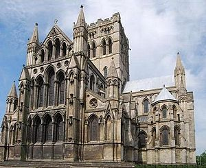 St John the Baptist Cathedral, built on the site of Norwich Gaol: Wikipedia