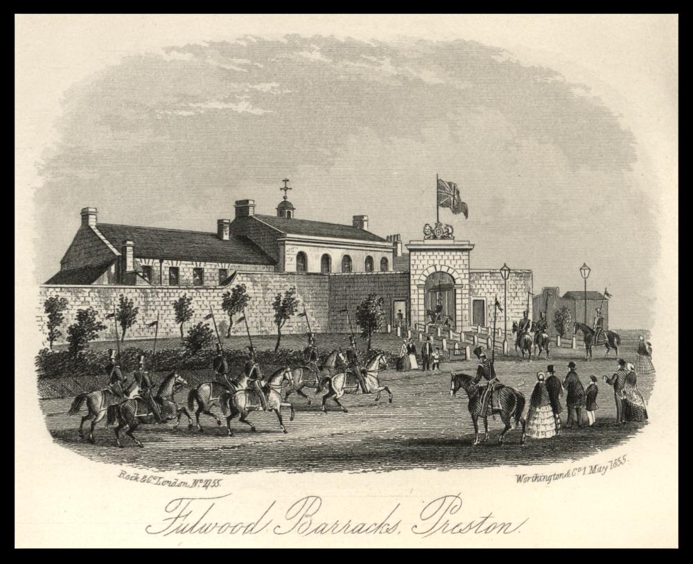 Fulwood Barracks: Rock and Co. London 1855: Preston Digital Archive